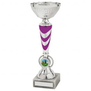 Clearance Line Chrome Coloured Dancing Cup
