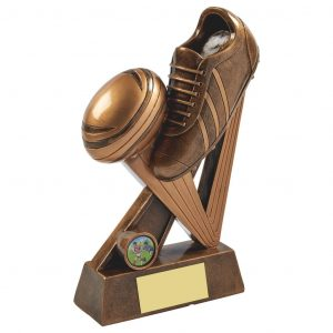 Rugby Boot Ball Trophy1