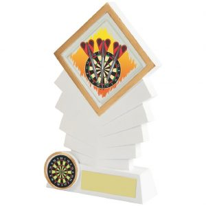 Budget priced Darts Trophy 16cms