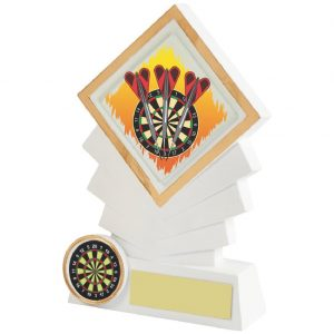 Budget priced Darts Trophy 14cms