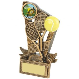 Budget Resin Tennis Trophy 13cms