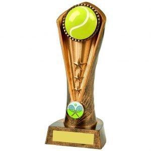 Tennis Column Trophy 21cms