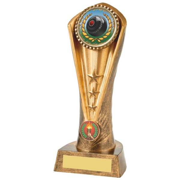 A stylish trophy which is perfect for any bowls player