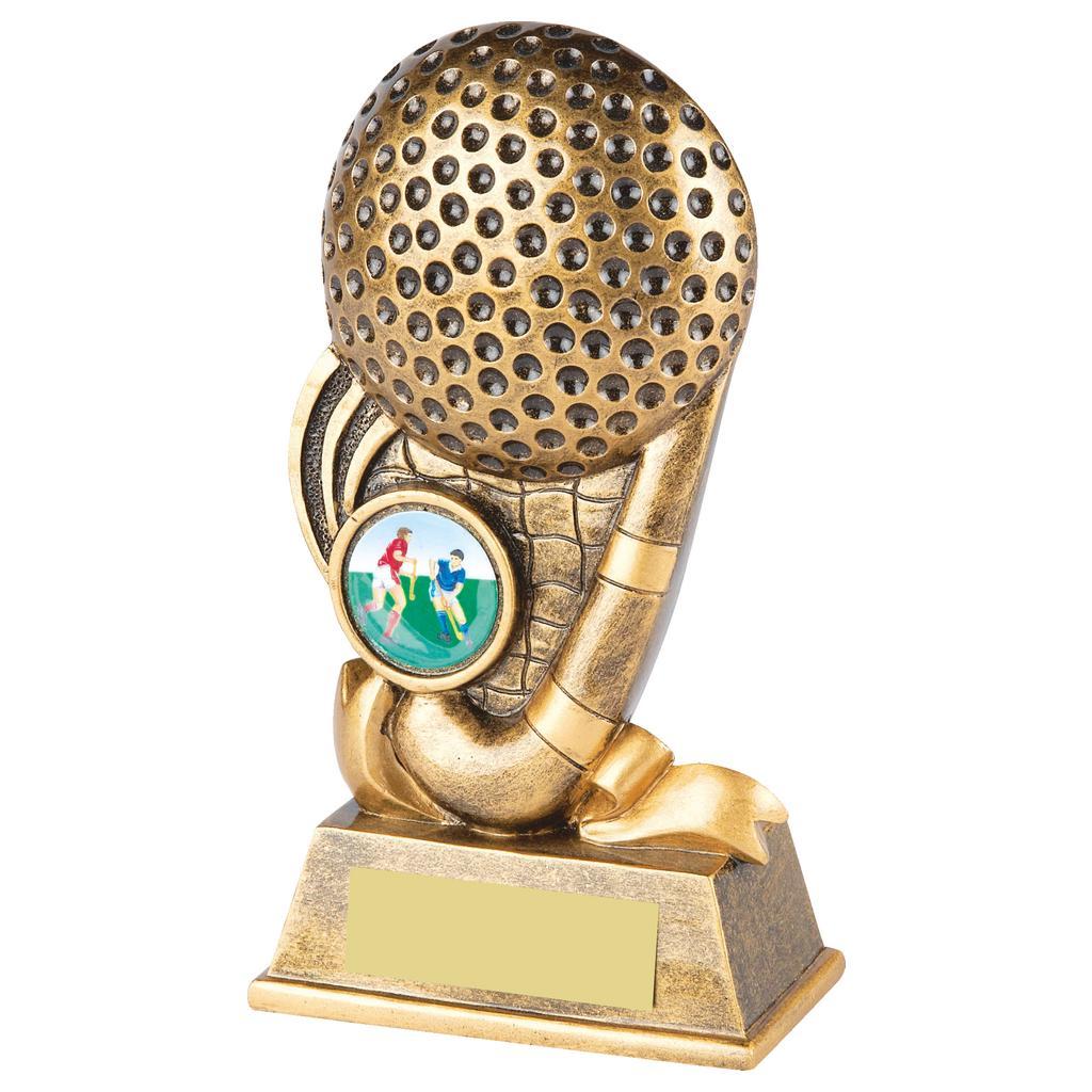 Budget Hockey Trophy 15cms