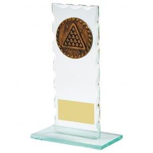 Jade Glass Snooker Trophy