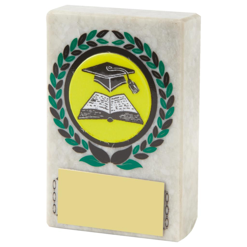 School Marble Plaque Trophy