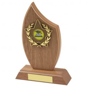 FootGolf Trophy Lightwood Sail Shaped