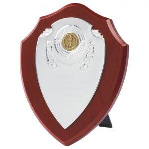 Chrome Front Replica School Shield