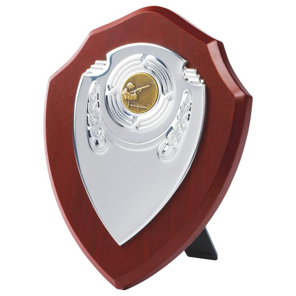 Chrome Front Replica Clay Shooting Shield
