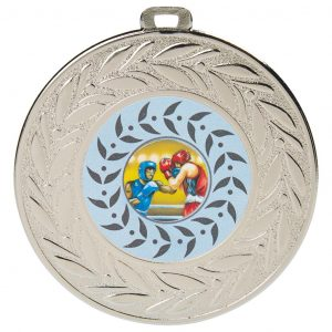 Extra Large Boxing Medal. Above all, this is an ideal medal for all winners, runners up and competitors.