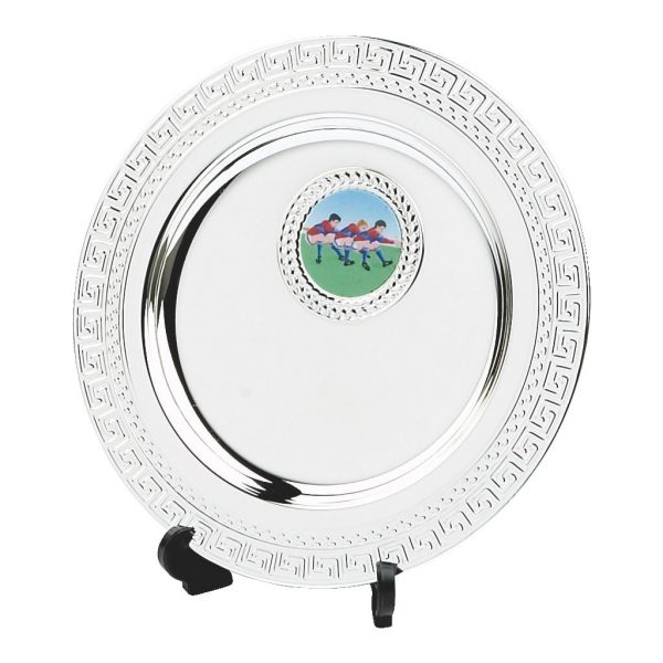 Chess Silver Salver