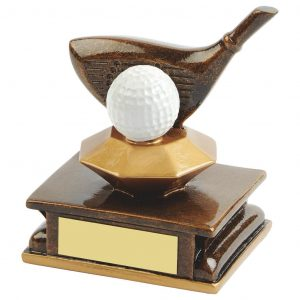 Golf Club Driver Trophy 11cms