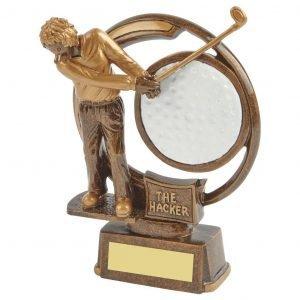 The Hacker Golf Trophy 15cms