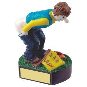Golfing Bad Loser Trophy 13cms