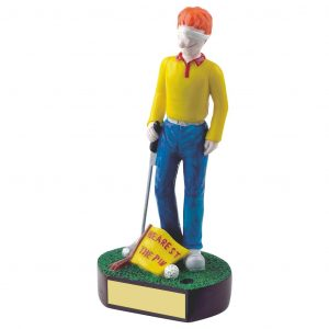 Golfing Nearest the Pin Trophy 18cms
