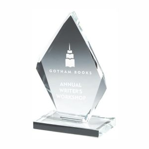 Presentation Glass Trophy 13cms