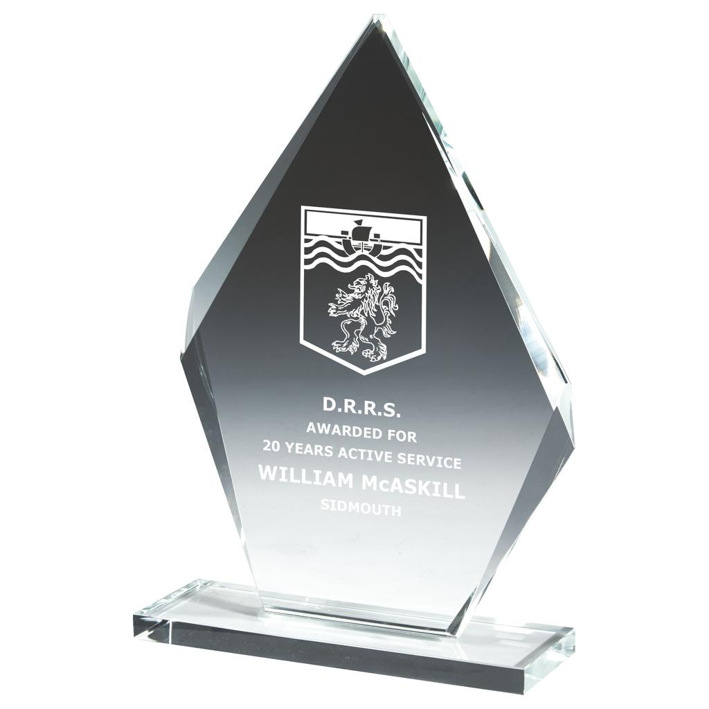 Value Glass Presentation Trophies