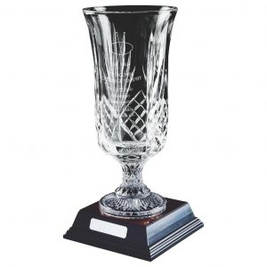 Lead Crystal Vase 42cms