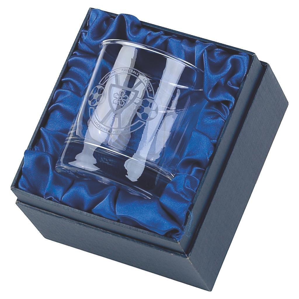 Single Glass Tumbler in Presentation Box