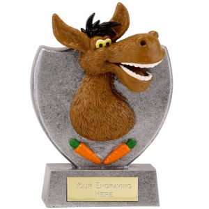 Comic Donkey Trophy 14cms