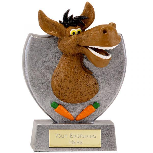 Comic Donkey Trophy 14cms