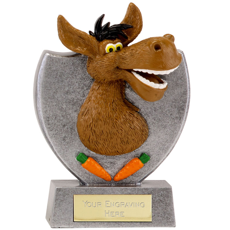 Just for Fun Donkey Trophy 14cms tall