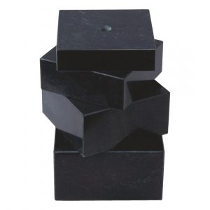 Black Reconstituted Stone Base