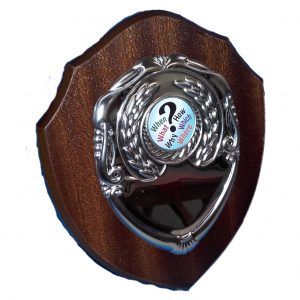 Traditional Shaped Quiz Shield