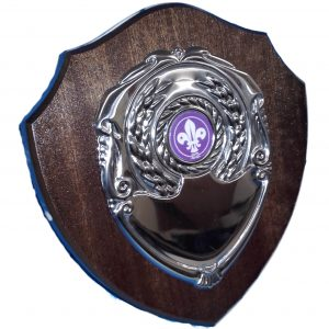 Traditional Shaped Scouts Shield