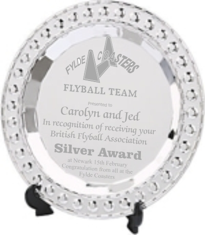 Silver Plated Flyball Salver