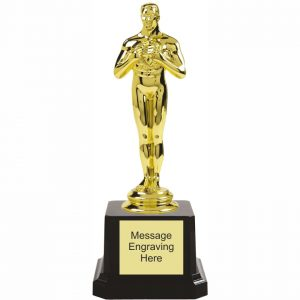 Looks Like an Oscar Trophy