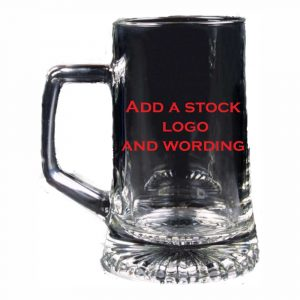 Budget Priced Glass Tankard