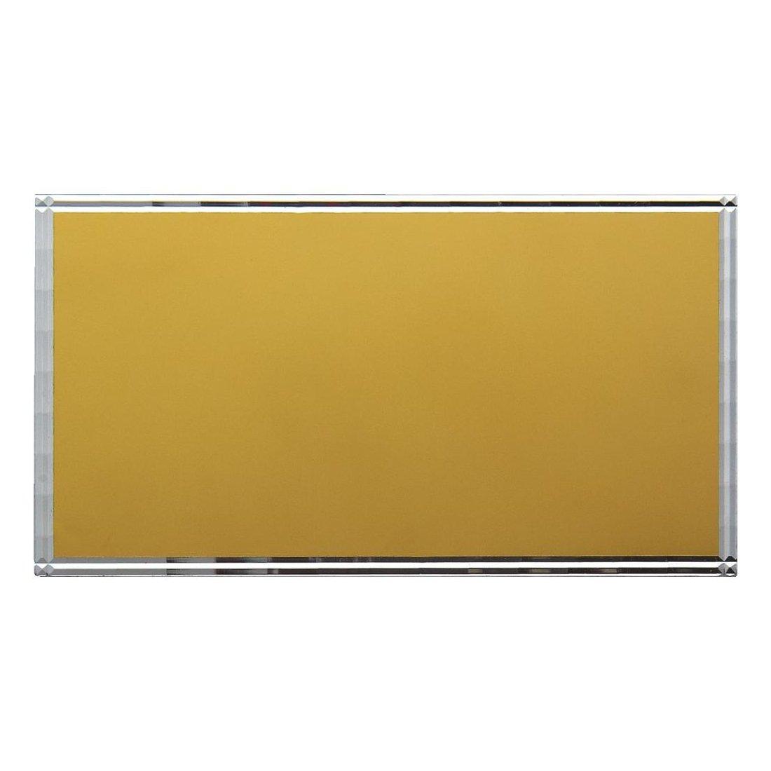 Diamond Edge Gilt Engraving Plate