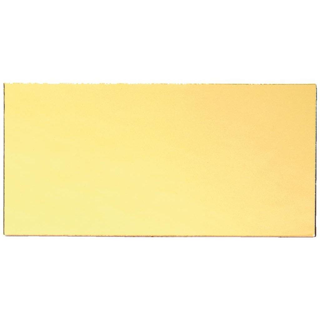 Engraving Plate Gilt Coloured