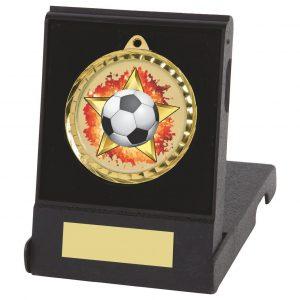 Football Medals & Flip Box