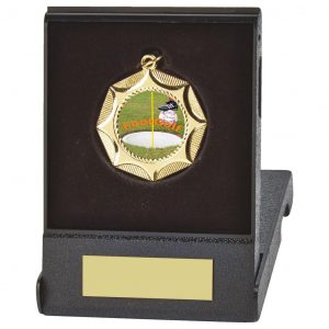 Footgolf Flip Box and Medal Trophy