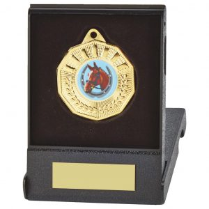 Medal with Flip Box Trophies