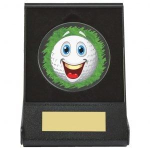 Humorous Golf Flip Box Trophy