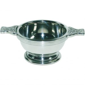 Traditional Pewter Quaich Extra Small