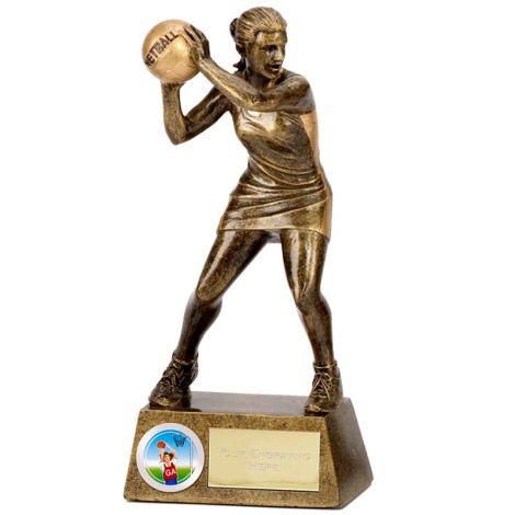 Netball Figured Trophy