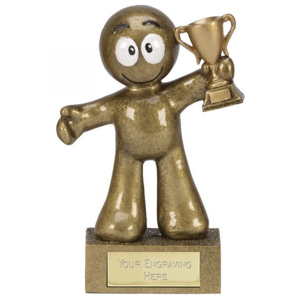 Just for fun Kid Trophy 12cms tall