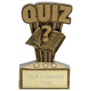Micro Quiz Trophy 7cms