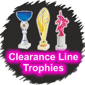 Clearance Line Cups and Trophies