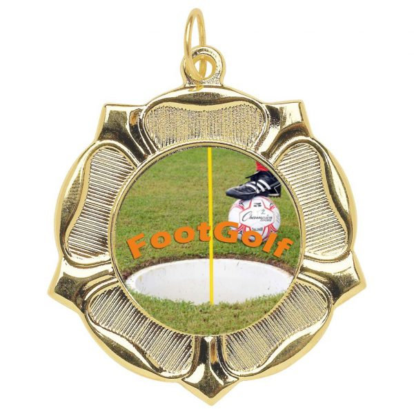 Budget Priced FootGolf Medal