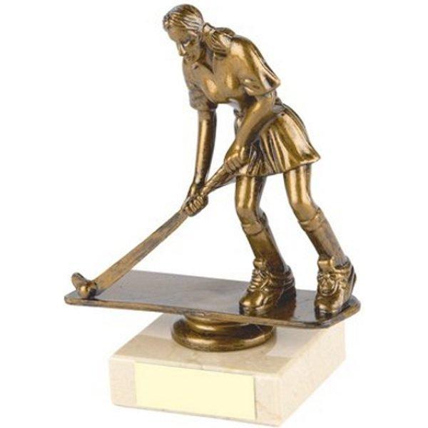 Female Hockey Trophy 15cms