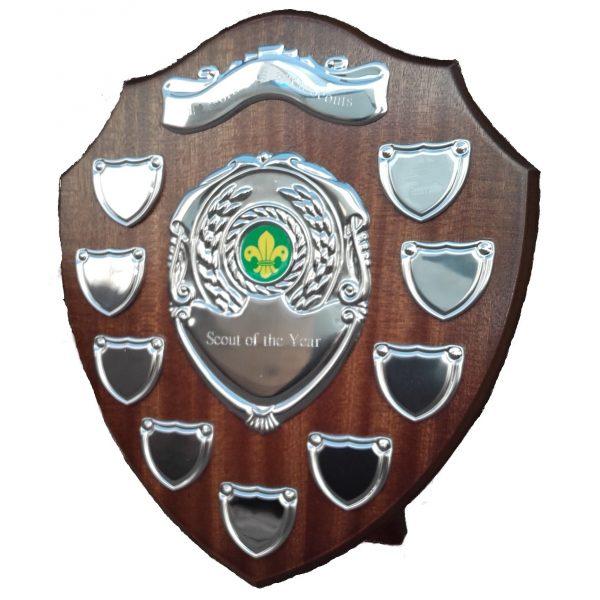 Annual Scouts Presentation Shield