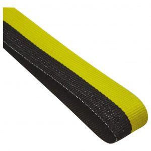 black and yellow medal ribbon