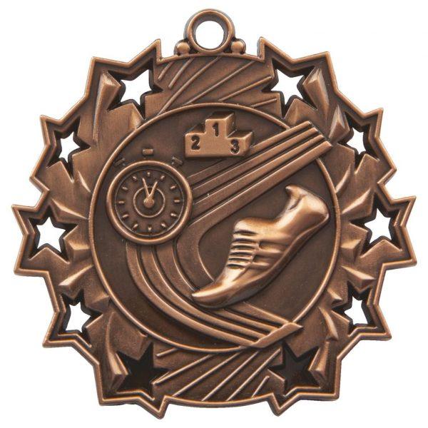 bronze athletics medal
