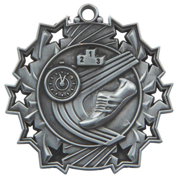 silver athletics medal