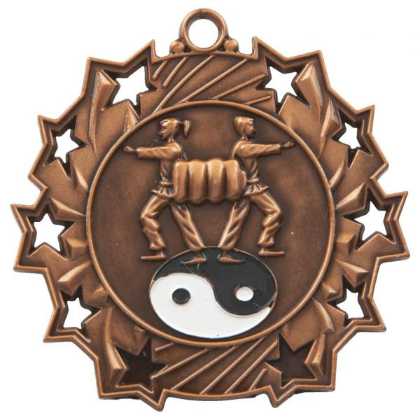 bronze martial arts medal